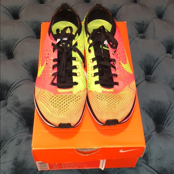 sports shoes 7dcb3 2edbf Nike Shoes - Nike flyknit racer